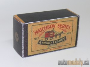 Replika Box - Matchbox Regular Wheels - No.7