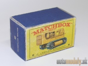 Replika Box - Matchbox Regular Wheels - No.8 Caterpillar Tractor