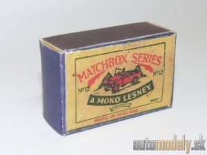 Replika Box - Matchbox Regular Wheels - No.12