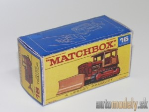 Replika Box - Matchbox Regular Wheels - No.16 Case Tractor