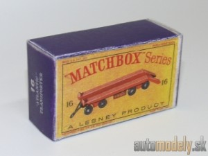 "Replika Box - Matchbox Regular Wheels - No.16 ""Atlantic"" Transporter"