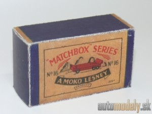 Replika Box - Matchbox Regular Wheels - No.16