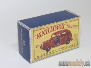 Replika Box - Matchbox Regular Wheels - No.17 Metropolitan Taxi