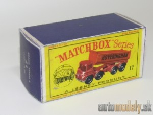 Replika Box - Matchbox Regular Wheels - No.17 New Model 8-Wheel Tipper