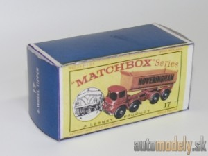 Replika Box - Matchbox Regular Wheels - No.17 8-Wheel Tipper