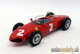 CMR - Ferrari F1 Dino 156 Sharknose N 2 Winner Italian GP Monza Phil Hill 1961 World Champion - 1:18