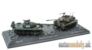 Atlas - Type 59 + M41 Walker Bulldog Dong Ha Vietnam 1972 World of Tanks