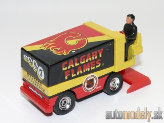 White Rose Collectibles - Zamboni Ice Maker - Calgary Flames