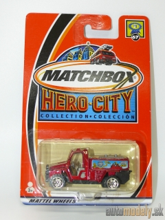 Matchbox Hero City 95259 - Foam Fire Truck