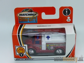 Matchbox Hero City 97779 - Highway Fire Pumper