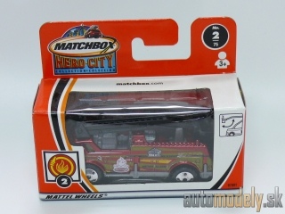 Matchbox Hero City 97801 - Bucket Fire Truck