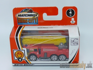 Matchbox Hero City 97803 - Extending-Ladder Fire Truck