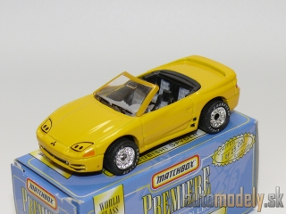Matchbox Premiere Convertible Collection - Mitsubishi 3000GT Spyder - 1:60