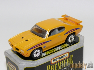 Matchbox Premiere Nostalgia Collection - '70 Pontiac GTO - 1:67