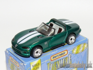 Matchbox Premiere Convertible Collection - Dodge Viper RT/10 - 1:59