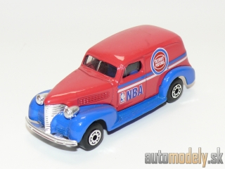 "Matchbox - '39 Chevy Sedan Delivery ""Detroit Pistons NBA"" - 1:57"
