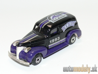 "Matchbox - '39 Chevy Sedan Delivery ""Colorado Rockies MLB"" - 1:57"