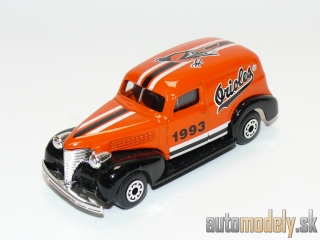 "Matchbox - '39 Chevy Sedan Delivery ""Orioles MLB"" - 1:57"