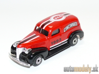 "Matchbox - '39 Chevy Sedan Delivery ""Cincinnati Reds MLB"" - 1:57"