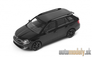 Škoda Fabia III Combi Black Magic - 1:43