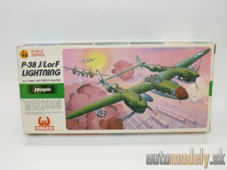 "Hasegawa - P-38 J/LorF Lightning ""U.S. Army Air Force Fighter"""