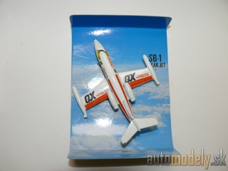 "Matchbox - Skybusters SB1 Learjet ""QX-Press"""