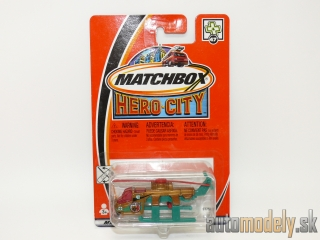 Matchbox Hero City #47 97756 - Air-Lift Helicopter - 1:80