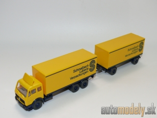 "Wiking 457 - MB 2232 ""Schmalbach Lubeca Verpackungen"" - HO 1:87"