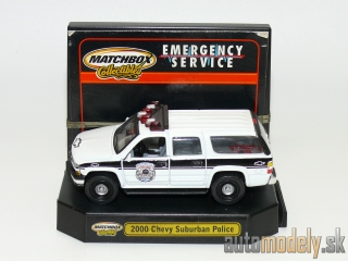 Matchbox Collectibles - 2000 Chevy Suburban Police