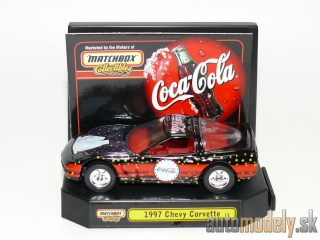 "Matchbox Collectibles 92486 - 1997 Chevy Corvette ""Coca-Cola"""