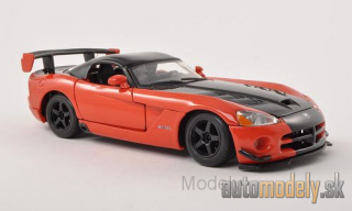 Bburago - Dodge Viper SRT10 ACR, metallic-dunkelorange/black - 1:24