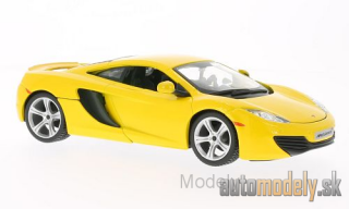 Bburago - McLaren MP4-12C, yellow - 1:24