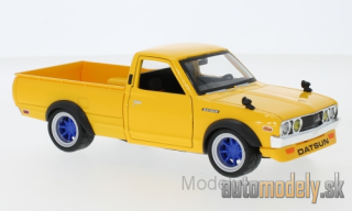 Maisto - Datsun 620 Pick Up Tuning, yellow, 1973 - 1:24