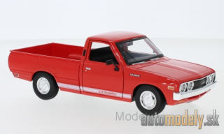 Maisto - Datsun 620 Pick Up, red/Decorated, 1973 - 1:24