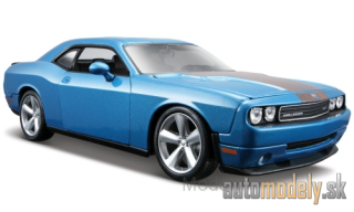 Maisto - Dodge Challenger SRT8, metallic-blue, 2008 - 1:24