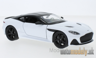 Welly - Aston Martin DBS Superleggera, white/black, 2018 - 1:24