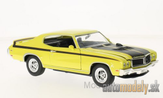 Welly - Bugatti ChiBuick GSX, yellow/black, 1970 - 1:24