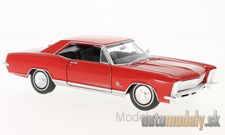 Welly - Buick Riviera Grand sport, red, 1965 - 1:24
