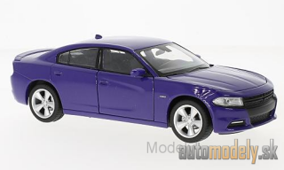 Welly - Dodge Charger R/T, purple, 2016 - 1:24