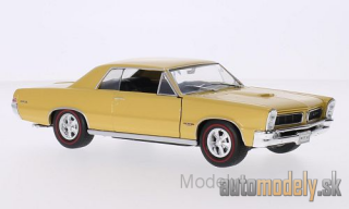 Welly - Pontiac GTO , metallic-gold, 1965 - 1:24