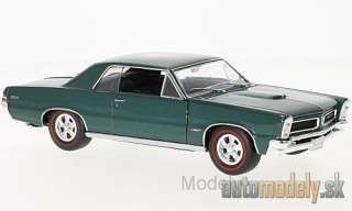 Welly - Pontiac GTO, metallic-türkis, 1965 - 1:24