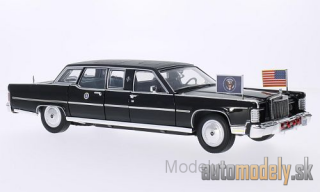 Lucky Die Cast - Lincoln Continental Reagan Car, black, 1972 - 1:24