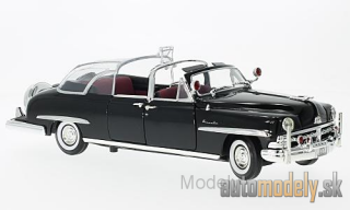 Lucky Die Cast - Lincoln Cosmopolitan Buble Top, black, 1950 - 1:24