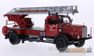 Lucky Die Cast - Mercedes L 4500 F, volunteers fire brigade Ingolstadt, including Zubehör, 1944 - 1:24