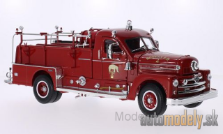 Lucky Die Cast - Seagrave Model 750, Somers Fire Dept., including Zubehör, 1958 - 1:24