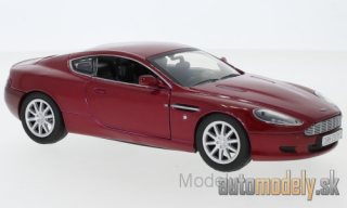 Motormax - Aston Martin DB9, metallic-dark red - 1:24