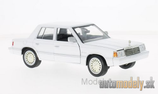 Motormax - Dodge Aries K, white, 1982 - 1:24