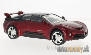 Motormax - Pontiac Rangeous, metallic-rot/black, without showcase - 1:24