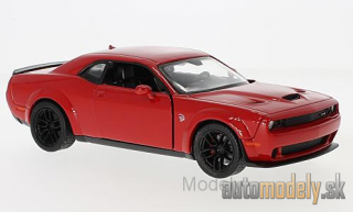 Motormax - Dodge Challenger SRT Hellcat Wide-Body, red, 2018 - 1:24