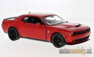 Motormax - Dodge Challenger SRT Hellcat Wide-Body, rot, 2018 - 1:24